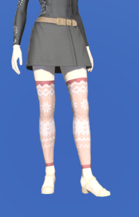 Model-Whisperfine Woolen Shorts-Female-Elezen.png