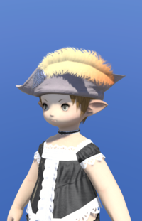 Model-Aetherial Felt Cavalier's Hat-Female-Lalafell.png