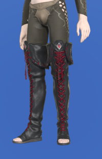 Model-Ghost Barque Open-toed Boots of Scouting-Male-Elezen.png