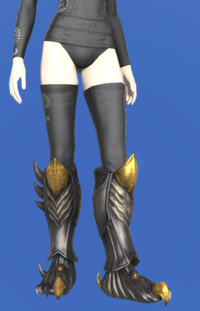 Model-Tarnished Feet of Pressing Darkness-Female-Elezen.png