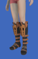 Model-Replica Sky Rat Ironclad Boots of Aiming-Female-Hyur.png