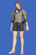 Model-Linen Coatee of Crafting-Male-Hyur.png