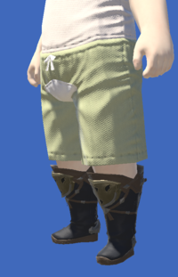 Model-Raptorskin Boots-Male-Lalafell.png