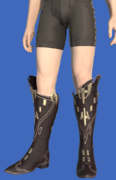 Model-Replica High Allagan Boots of Casting-Male-Hyur.png