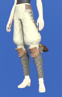 Model-Velveteen Sarouel of Gathering-Female-Miqote.png