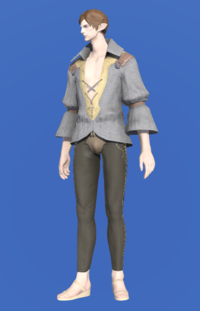 Model-Flame Private's Shirt-Male-Elezen.png