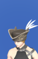 Model-Tricorne of the Defiant Duelist-Male-Miqote.png