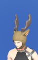 Model-Reindeer Antlers-Male-Miqote.png