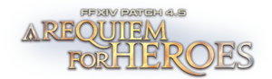"Logo of Patch 4.5 ""A Requiem for Heroes"""