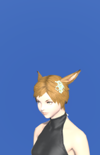 Model-Green Cherry Blossom Corsage-Female-Miqote.png