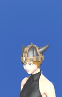 Model-Aetherial Boarskin Pot Helm-Female-Miqote.png