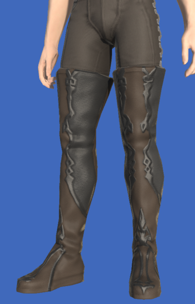 Model-Griffin Leather Thighboots of Aiming-Male-Hyur.png