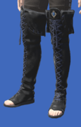 Model-Smilodonskin Open-toed Boots of Aiming-Male-Hyur.png