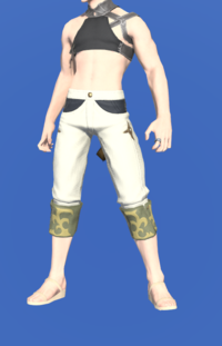 Model-Bloodhempen Trousers of Gathering-Male-Miqote.png