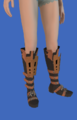 Model-Replica Sky Rat Ironclad Boots of Aiming-Female-Miqote.png