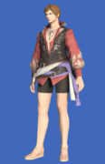 Model-Shirt of the Divine Hero-Male-Hyur.png