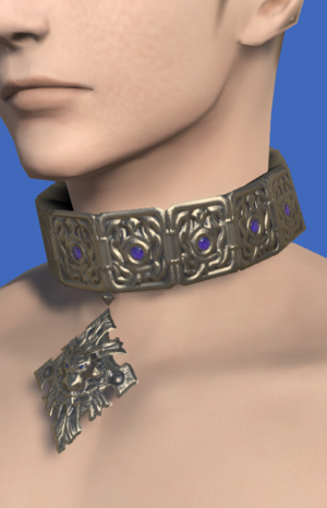 Model-Platinum Pack Wolf Choker.png