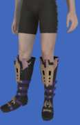 Model-Replica Sky Rat Ironclad Boots of Casting-Male-Hyur.png