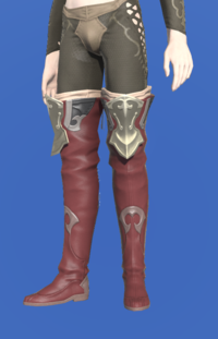 Model-Saurian Boots of Striking-Male-Elezen.png