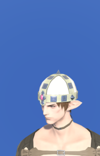 Model-Aetherial Raptorskin Pot Helm-Male-Elezen.png