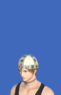 Model-Aetherial Raptorskin Pot Helm-Male-Hyur.png