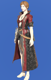 Model-Griffin Leather Coat of Striking-Female-Hyur.png