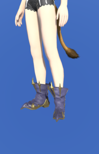 Model-Replica Dreadwyrm Shoes of Casting-Female-Miqote.png