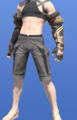 Model-Ala Mhigan Fingerless Gloves of Striking-Male-Miqote.png