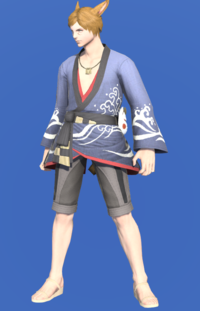 Model-Lord's Yukata (Blue)-Male-Miqote.png