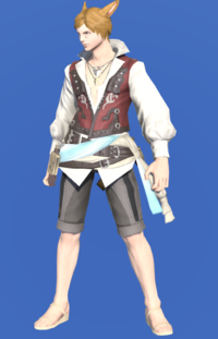 Model-Shirt of the Divine Light-Male-Miqote.png