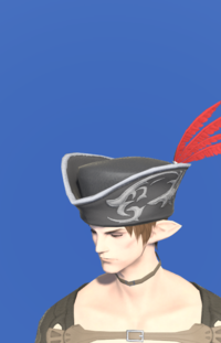 Model-Tricorne of the Daring Duelist-Male-Elezen.png