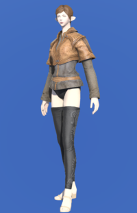 Model-Weathered Jerkin (Brown)-Female-Elezen.png