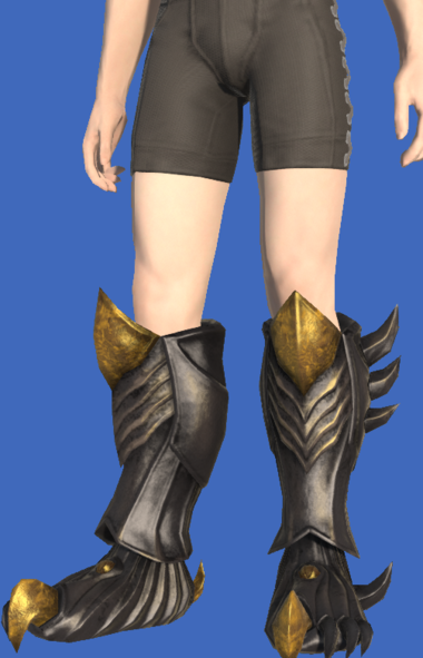 Model-Tarnished Feet of Pressing Darkness-Male-Hyur.png