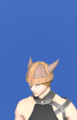 Model-Hard Leather Pot Helm-Male-Miqote.png