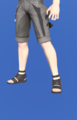 Model-Ala Mhigan Shoes of Gathering-Male-Miqote.png