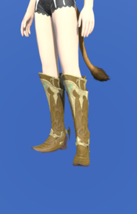 Model-Dragonskin Boots of Healing-Female-Miqote.png