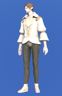 Model-Cotton Shirt-Male-Elezen.png