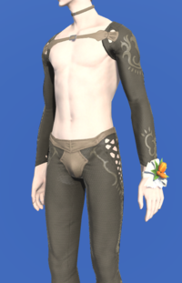 Model-Orange Tulip Corsage-Male-Elezen.png