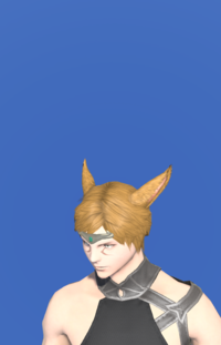 Model-Aetherial Brass Circlet (Malachite)-Male-Miqote.png