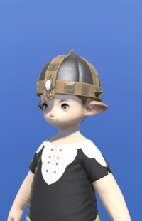 Model-Aetherial Boarskin Pot Helm-Male-Lalafell.png