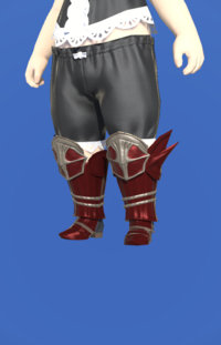 Model-Doman Steel Greaves of Scouting-Female-Lalafell.png