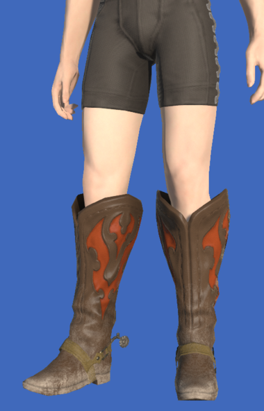 Model-Gyuki Leather Boots of Gathering-Male-Hyur.png