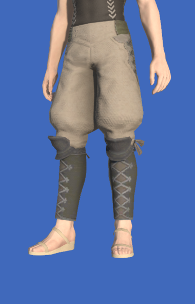 Model-Linen Sarouel of Gathering-Male-Hyur.png