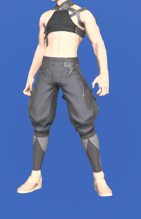Model-Rainbow Sarouel of Scouting-Male-Miqote.png