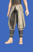 Model-Genji Tsutsu-hakama of Aiming-Male-Hyur.png