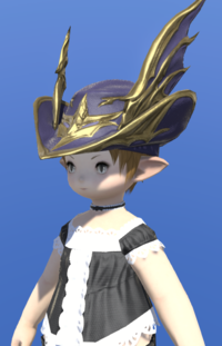 Model-Replica Dreadwyrm Chapeau of Aiming-Female-Lalafell.png
