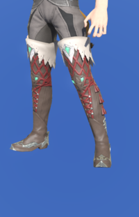 Model-Slothskin Boots of Healing-Male-Miqote.png