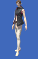 Model-Hooded Fireglass Leather Vest-Female-Elezen.png