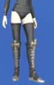 Model-Diamond Boots of Casting-Female-Elezen.png
