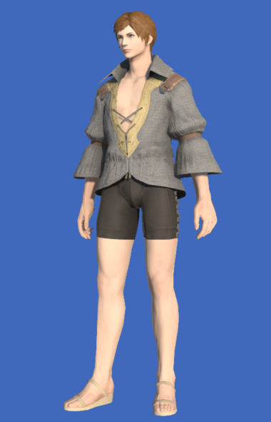 Model-Flame Private's Shirt-Male-Hyur.png